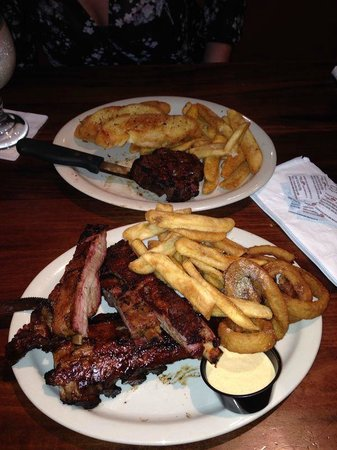 Wildside: nothing but ribs and fillet steak