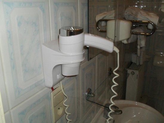 Hotel Albergo : Asciugacapelli non funzionante
