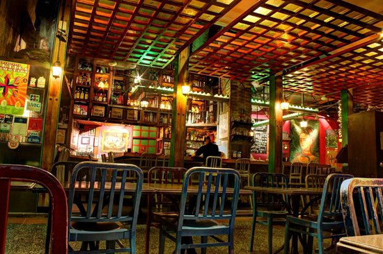 Bar at Cafe Iguana
