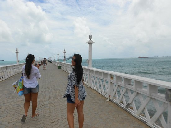Meireles Beach: Ponte
