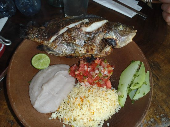 Nicaragua Adventures - Day Tours: Now that's fresh fish