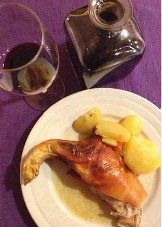 Restaurante Narizotas: Cochinillo para degustar