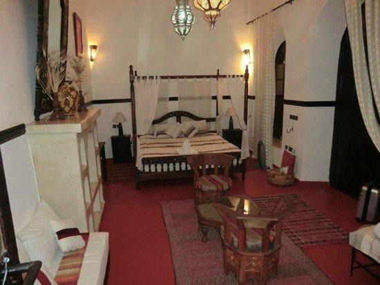 Riad Jomana: Suite très spacieuse