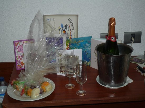 Catalonia Punta del Rey: A birthday surprise from the Hotel