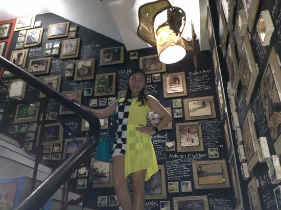 Ponce Suites Gallery Hotel : Picturesque stair