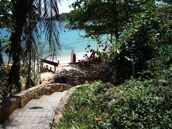 La Boheme Hotel e Apart Hotel: bajada a la playa