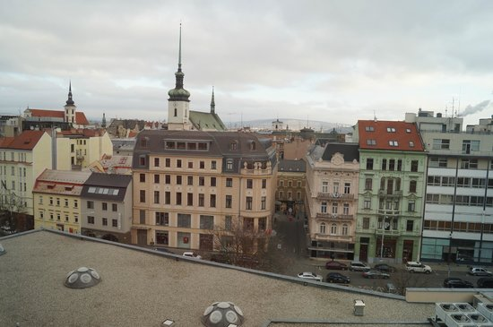 BEST WESTERN Premier Hotel International: Brno city centre - room view