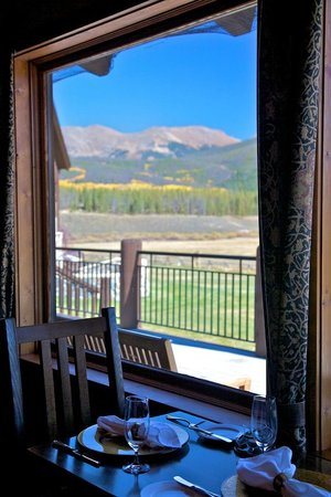 Devil's Thumb Ranch Resort & Spa: Views of the ranch and Continental Divide are interwoven into all the interior buidlings