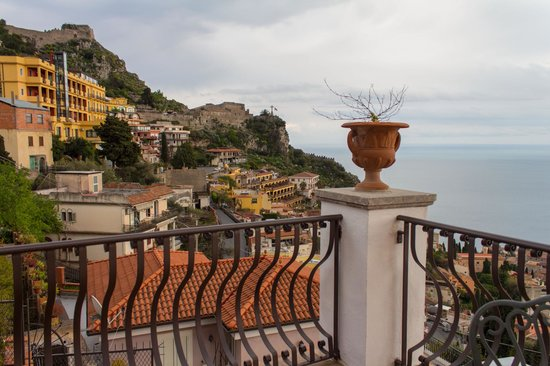 Hotel Villa Ducale: View from terrace of Madonna Rocca