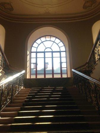Hotel Bristol Odessa: stair