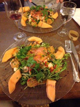Bistro d'Édouard - Courbevoie : Superbe salade folle