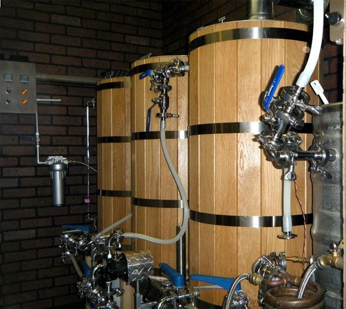 Copp Winery & Brewery : Brewhouse #1 Tanks