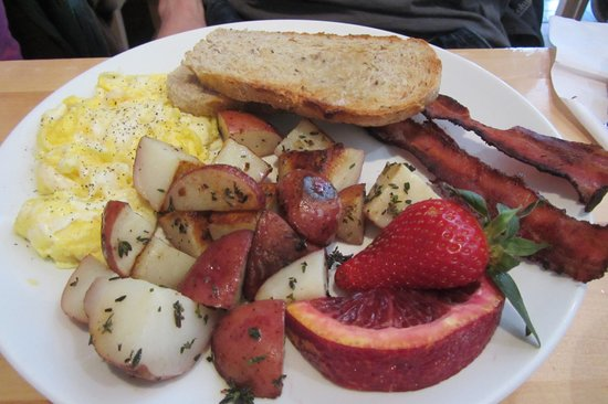 Emma's Country Kitchen : The Classic: Eggs, Bacon, Potatoes & Toast