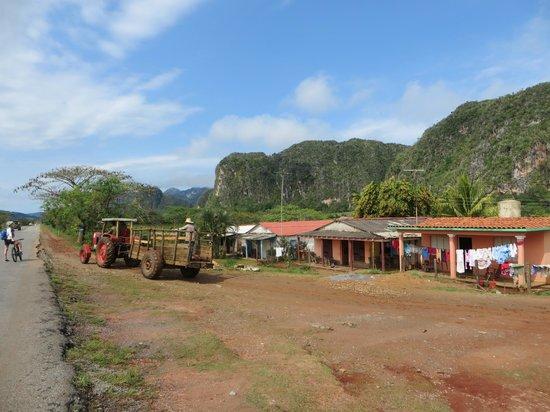 Villa Los Pandaderos: outskirts of vinales