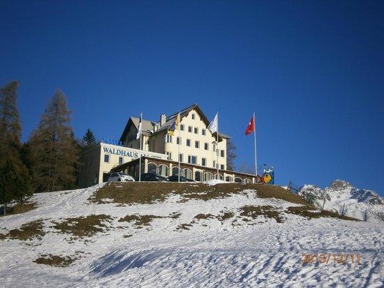 Hotel Waldhaus Am See: 飯店外觀