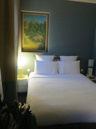 Hotel Elysa Luxembourg: Vista do apartamento
