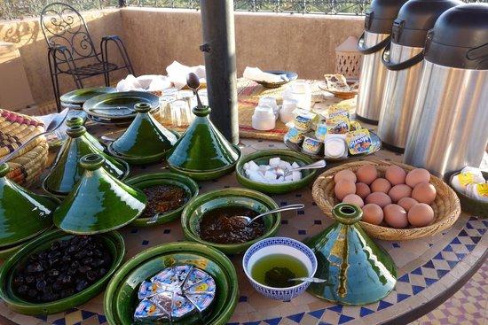 Breakfast at Riad Nezha
