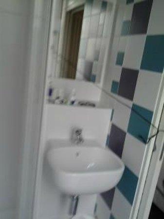 Hotel des Metallos: Toilette