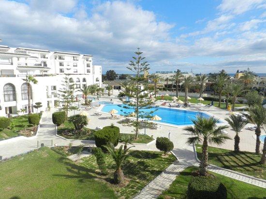 Hôtel Riviera Resort : view from balcony