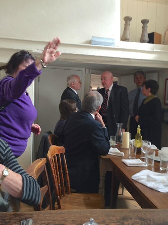 The Pickwick Inn: Private party in St Ann's Chapel room