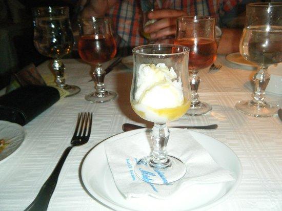 Restaurant Le Méditerranée : sorbet