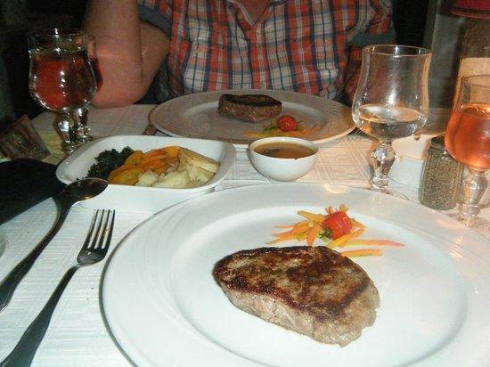 Restaurant Le Méditerranée : fillet steak