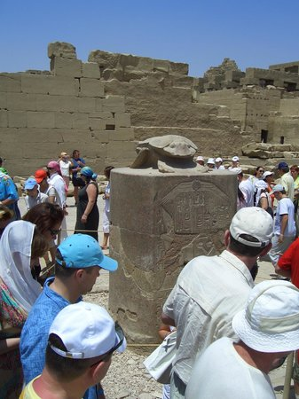 Templo de Luxor: Скарабей