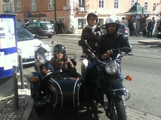 Sidecar Tours by Bike My Side : Touring in Belem