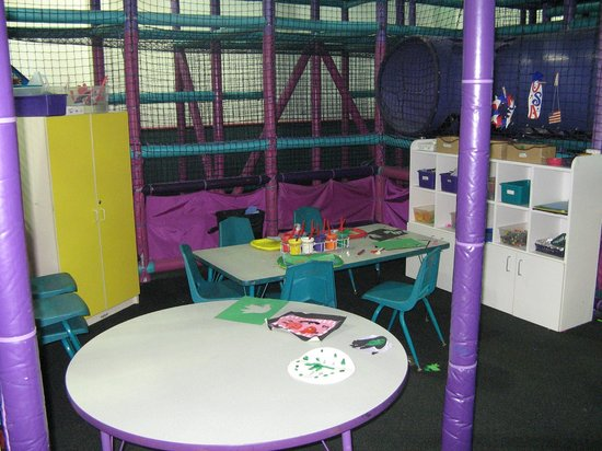 Kids Quest at Avi Resort & Casino: Arts and Cafes Area