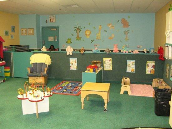 Kids Quest at Avi Resort & Casino: Tiny Tot Area