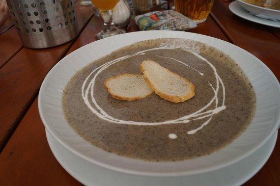 Hotel Kasperk: Mushroom soup