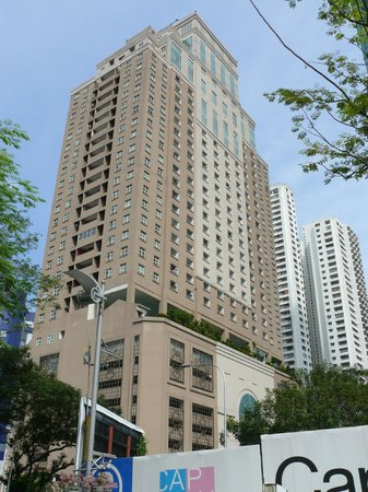 Silka Maytower Kuala Lumpur : Вид на отель с улицы