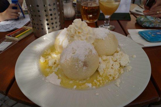 Hotel Kasperk: Fruit dumplings
