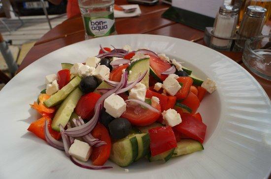 Hotel Kasperk: Greek salad