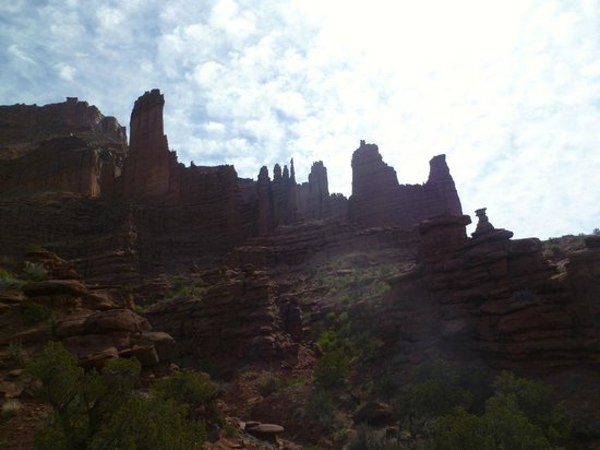 Sorrel River Ranch Resort and Spa : Fisher Towers Trail- just a few minutes down the road