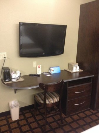 Microtel Inn & Suites by Wyndham Kalamazoo : TV/Desk