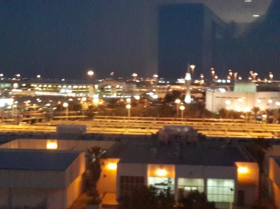 Oryx Rotana Doha: view from my window