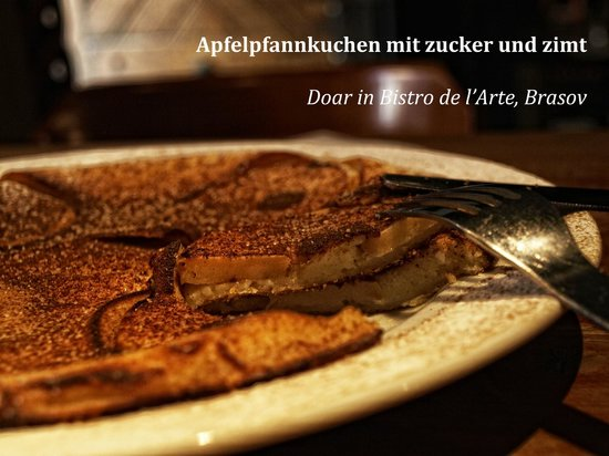 German Pancake Topped With Cinnamon And Sugar Recipe — Dishmaps