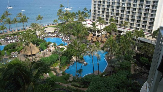 Westin Maui Resort And Spa: from the balcony