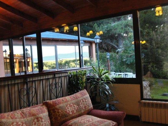 Hotel Sierra Nevada: Vista da sala de estar