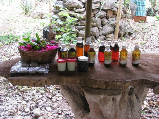 All natural, organic, remedies and massage oils  - Picture