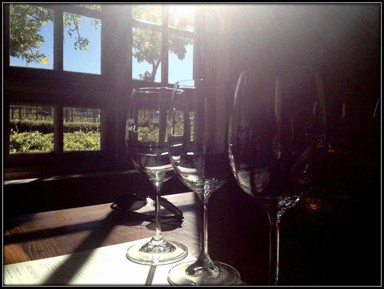 Spier Wine Farm : Sun flooded dining room