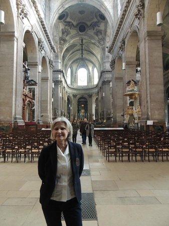 Saint-Sulpice: inside