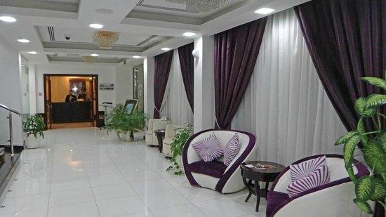 Tulip Inn Muscat: Le hall d'entrée