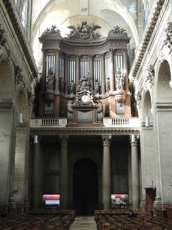 Saint-Sulpice: organ