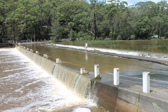 Royal National Park: Audley Weir prone to flooding