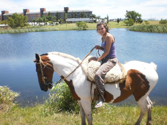 Arapey Thermal Resort and Spa: paseo en caballo x el lugar