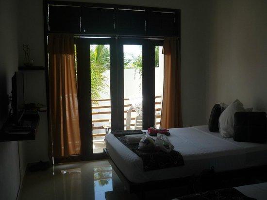 Hotel Latino: schönes Zimmer, klein aber fein