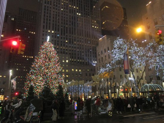 Manhattan At Christmas Picture Of Crowne Plaza Times