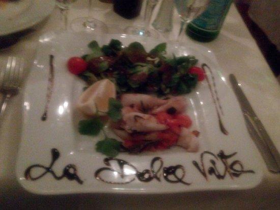 La Dolce Vita: second course